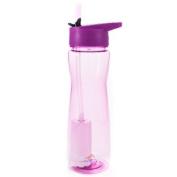 "Aqua Vessel ""Ultra Lite"" Filtered Water Bottle with Flip Straw & 378.5l Philtre"