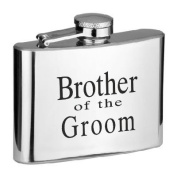 Brother of the Groom 120ml Hip Flask