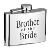 Brother of the Bride 120ml Hip Flask