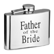 120ml Father of the Bride Hip Flask