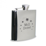 Well Done Hipflask