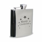 Merry Christmas Hipflask