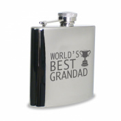 World's Best Grandad Hipflask