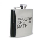 World's Best Mate Hipflask