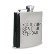 World's Best Step Dad Hipflask
