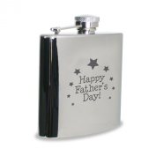 Happy Father's Day Hipflask