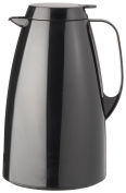 Emsa BASIC 505363 Thermos Can 1.5 L Black with Easy Tip System