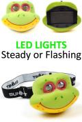 Summit Childs Frog Headlight - Multicoloured