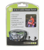 Yellowstone 2in1 Headlamp - Black, 1 Pack