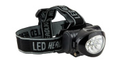 Ultrasport 10 LED Multifunction Headlamp incl. Batteries - Black