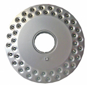Vango Light Disc - 48 LED Camping Light Disc - Silver