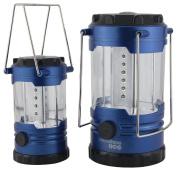 Yellowstone LED Family Camping Lantern Set - Metallic Blue