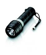 Philips LightLife Shock & Waterproof Flashlight All Weather Rubber Torch SFL3363