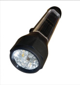 Brookstone Drive LED Solar Torch with 10 LED Bulbs