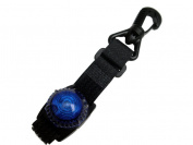 Guardian Flashing Blue Expedition Light with Strap & Hook Attachment