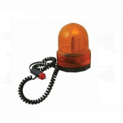 Silverline 633728 12 Volt Revolving Amber Light