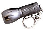 Rolson 1 LED Aluminium Key Ring Torch