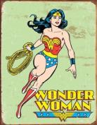 Wonder Woman Retro metal sign