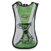 Green Hydration Pack Water Rucksack Backpack Cycling Bladder Bag Hiking Climbing Pouch