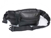 Leather Bumbag, Soft Leather Bum Bag, Up to 120cm waist 2412