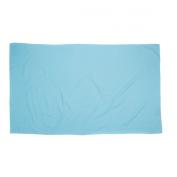 Trespass Soggy Microfibre Towel - Pool Blue, 75 X 130 cm