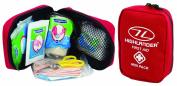 Highlander First Aid Dressing Wipes Bandage Scissors Mini Pack Mens