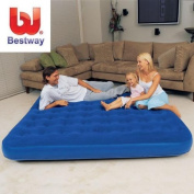 Best Way - BW67004 - 200cm x1840cm x22cm Flocked Air Bed/King