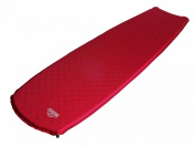 Lestra Sleep Mumie Self Inflating Iso Mat - 183 X 55 X 3 cm, Red