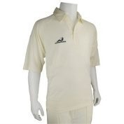 Woodworm Pro Series Cricket Shirt White