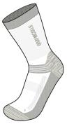 Greys Nicolls Cricket Socks Storm White/Grey