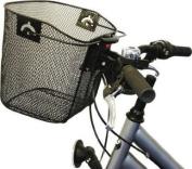 PEDALPRO BIKE/BICYCLE METAL MESH SHOPPING BASKET & QUICK RELEASE MECHANISM