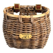 Premium, Rattan Wicker Classic Oval Bicycle Basket. Unrivalled strength and durability