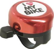 Bicycle / bike bell 'I love my bike' design