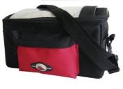 Amaro 7013 Handlebar Bag - ca. 27.5 x 12.0 x 16.5 cm, Red/Black