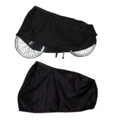 TAQ-33 Bicycle Protection Cover, Garage Cover, Black