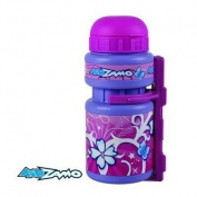 Kidzamo Childrens Bicycle Water Bottle and Cage. Available in Two Colours.