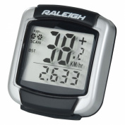 Raleigh 9 Function Wired Cycle Computer