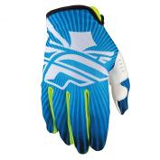 Fly Racing Lite Full finger gloves blue/white Full finger gloves