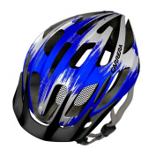 Carrera Hook MTB Helmet - White/Blue