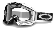 Oakley Proven Mx Goggles Black White Storm Clear Lens
