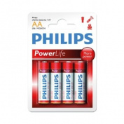 Philips Batteries AA Size (4pcs) -
