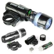 Easy on/off - Front and Rear LED Lights Kit for Bicycle - AAA Products - 12 Month Warranty