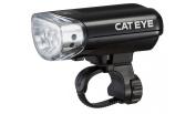 Cateye Jido, Au-230 5 Led, Auto/Manual On/Off Bike Front Light - Black