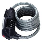 Trelock SK 310 Spiral Cable Lock LED cabel lock