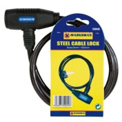 Steel Cable Bicycle Lock 8mm x 650mm
