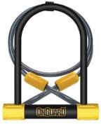 Magnum ONGUARD Bulldog DT Bicycle Cycling High Security U-Lock & Anti Theft Flexi Cable LK8012
