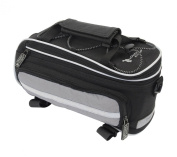 Outeredge Impulse Bicycle Pannier Rack fitting Pannier Bag in Black with Reflective Strips