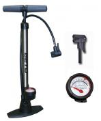Beto Track Pump Bicycle Cycle Alloy Floor Track Tyre Inflator Schrader/Presta valve Pump with Gauge