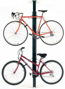 Gear Up Bua Aluminium Floor-To-Ceiling 2 / 4-Bike Rack Black