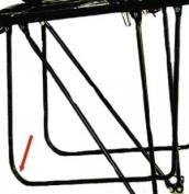 Pletscher brace support for Pack bag (Design